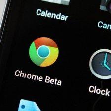 Google Chrome mobil