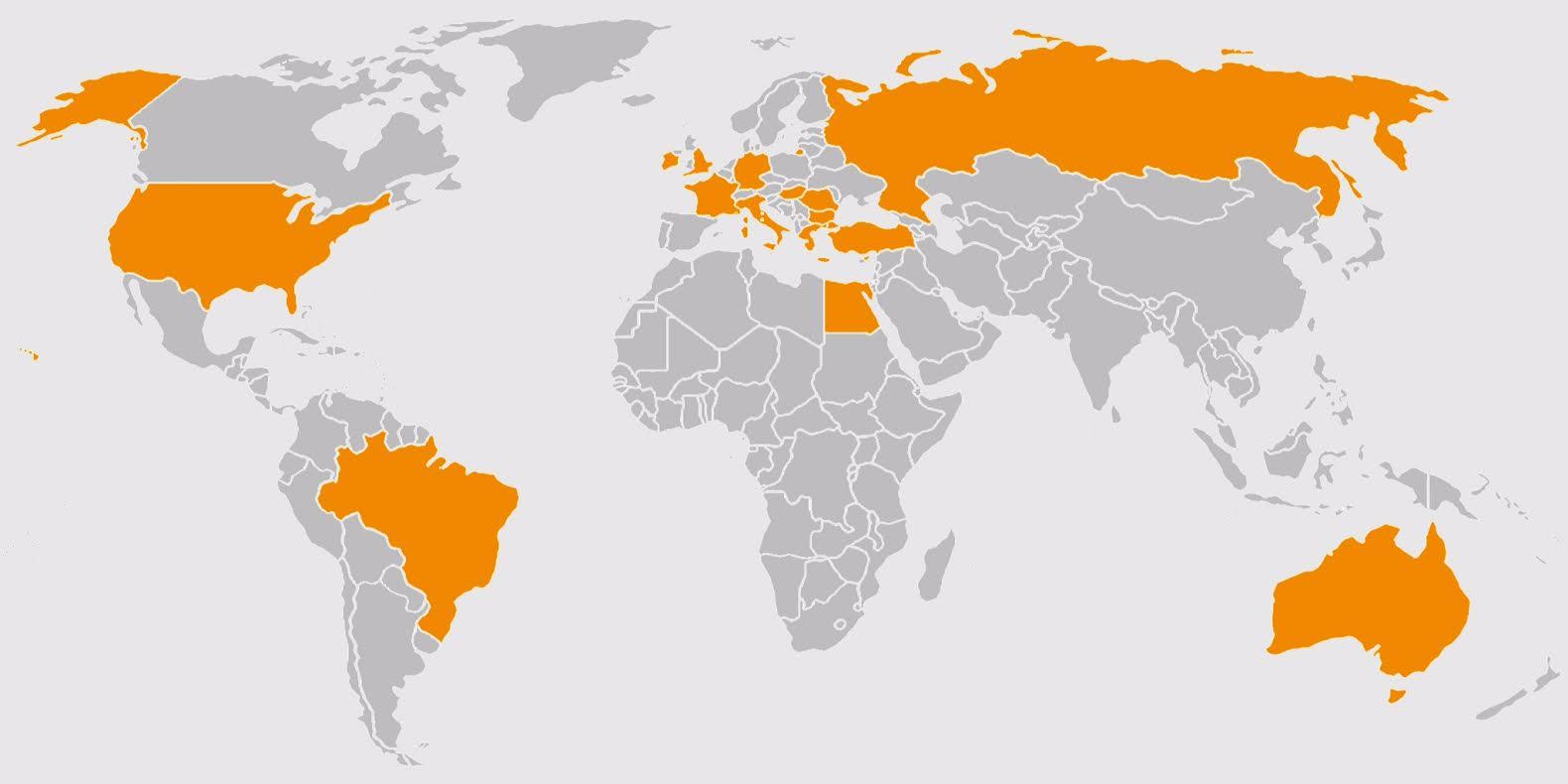Gittiğiniz ülkeleri Seçip Kişisel Haritanızı Görebileceğiniz Iphone