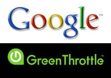 google-green-throttle