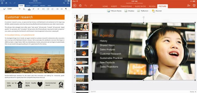 Microsoft Office iPad'e geldi, iPhone'da ve Android'de ise ücretsiz oldu