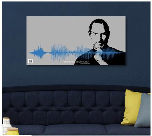 Steve Jobs Grafono