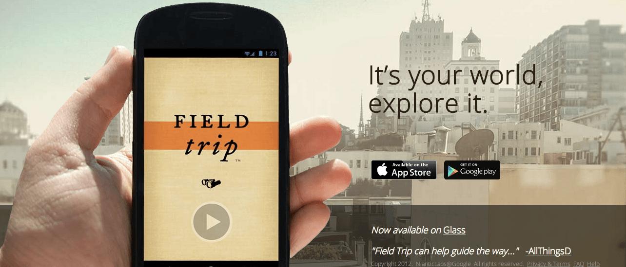 Field Trip ekran