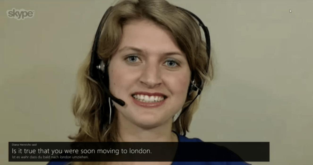 Skype simültane çeviri