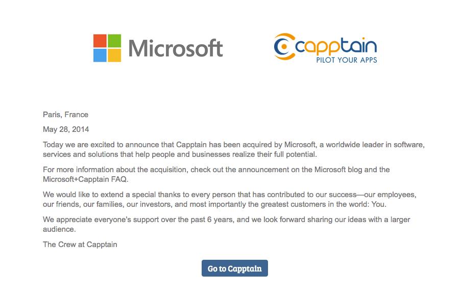 capptain-microsoft-satın alinma