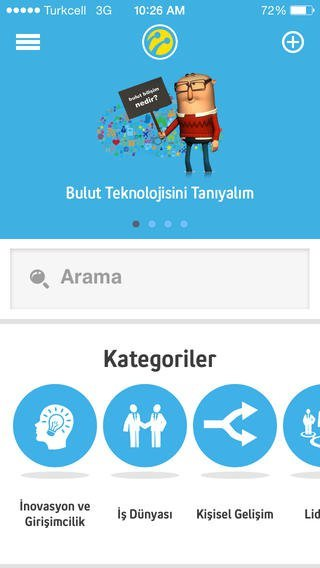 turkcell akademi ekran