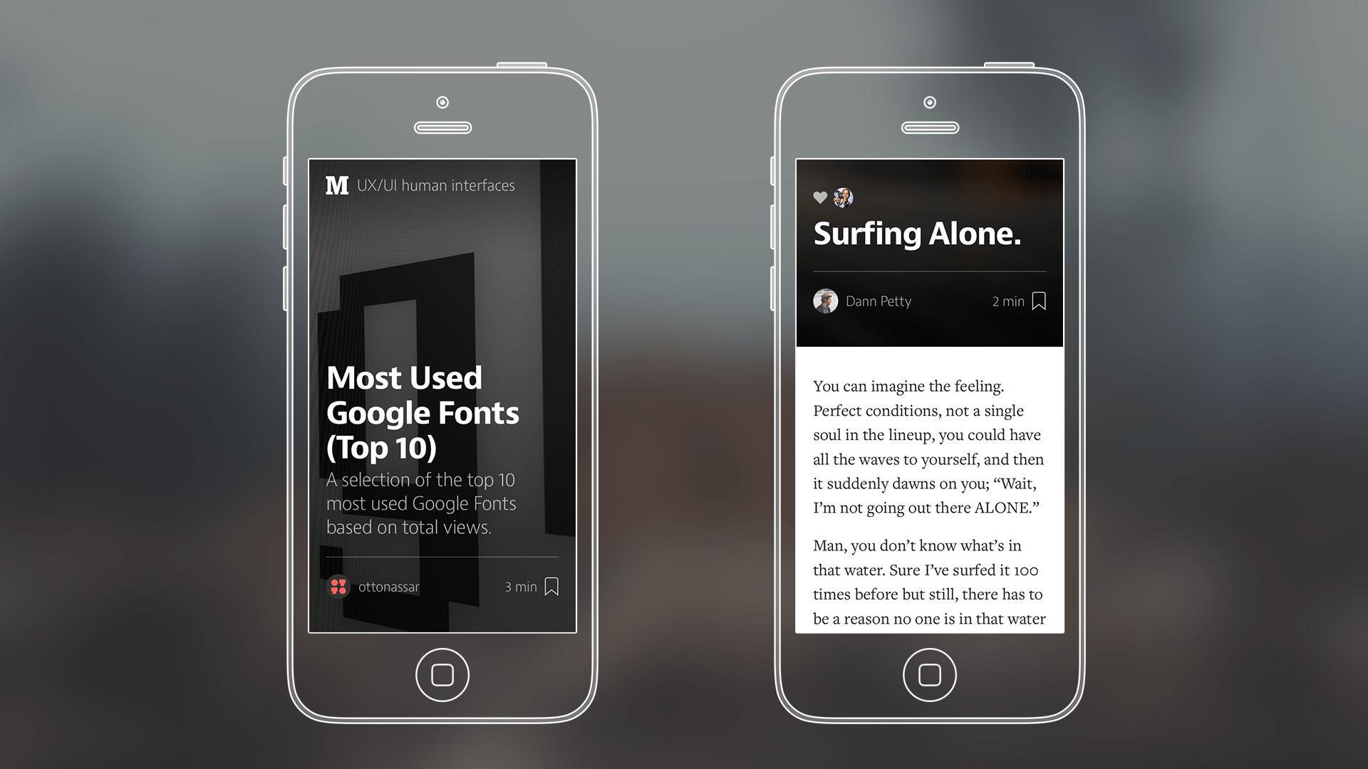 Mobile-Font
