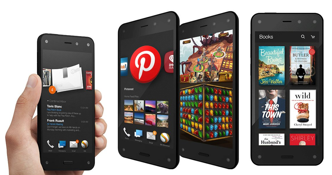 amazon fire phone akilli telefon ozellikler fiyat 2