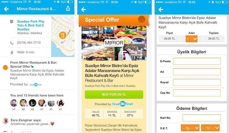 foursquare firsat bu firsat mobil firsat