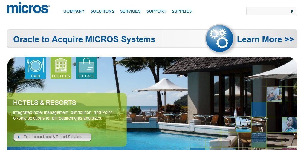 micros systems oracle