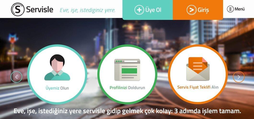 servisle.com servisle ulasim cozumu
