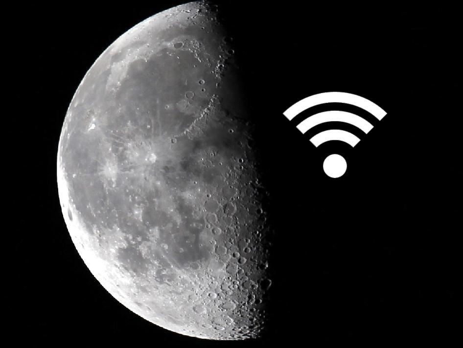NASA, Ay'ı yüksek hızlı internete kavuşturuyor
