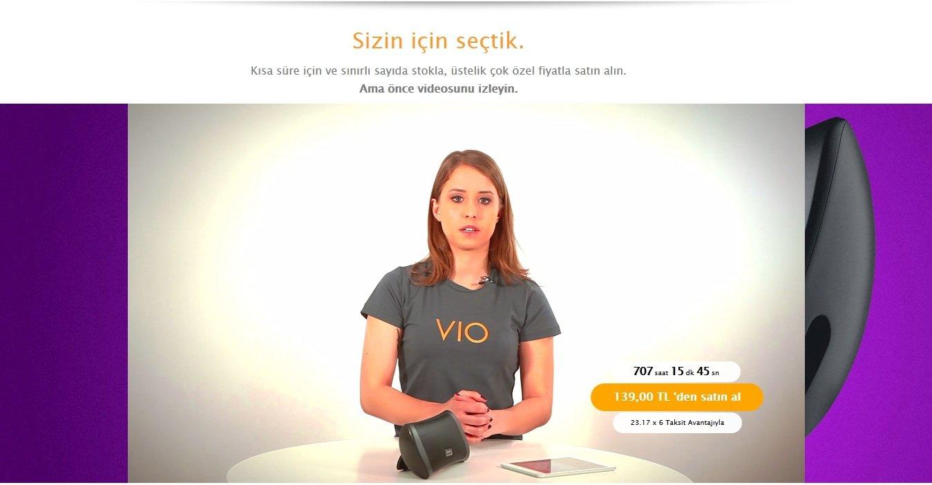 vio teknoloji video teknoloji e-ticaret 2
