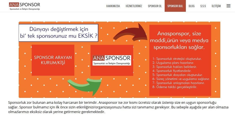 anasponsor.com sponsor bul