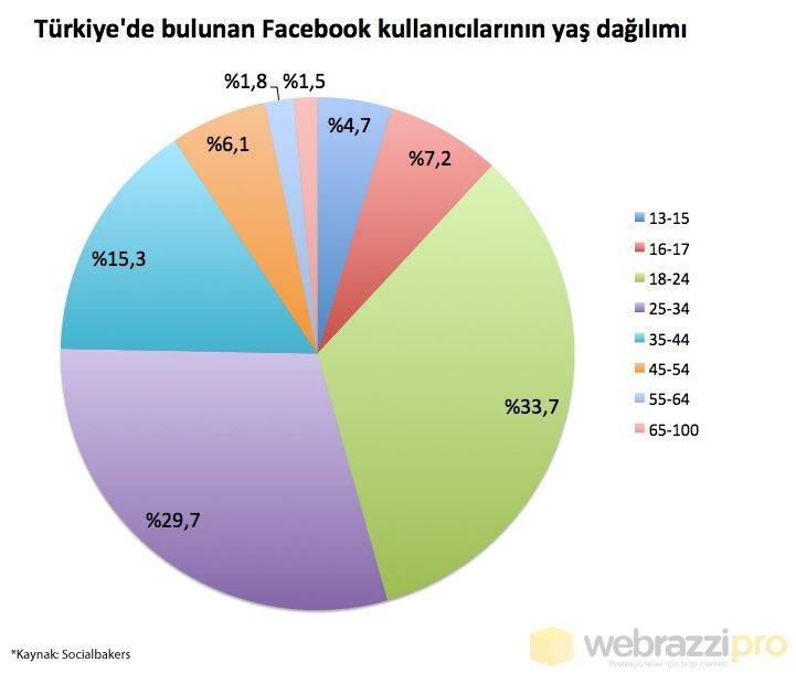 facebook-turk-kullanicilar-dagilim