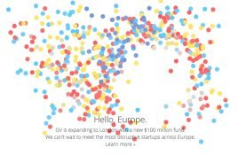 google ventures europe google yatirim