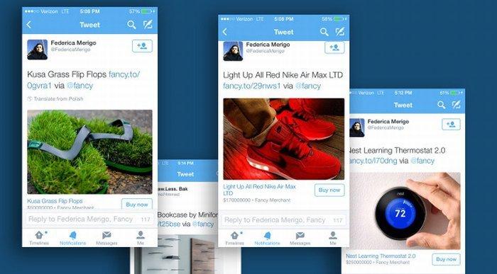 Twitter ticaret srtipe odeme sistemi