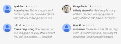bomb gaza yorumlar