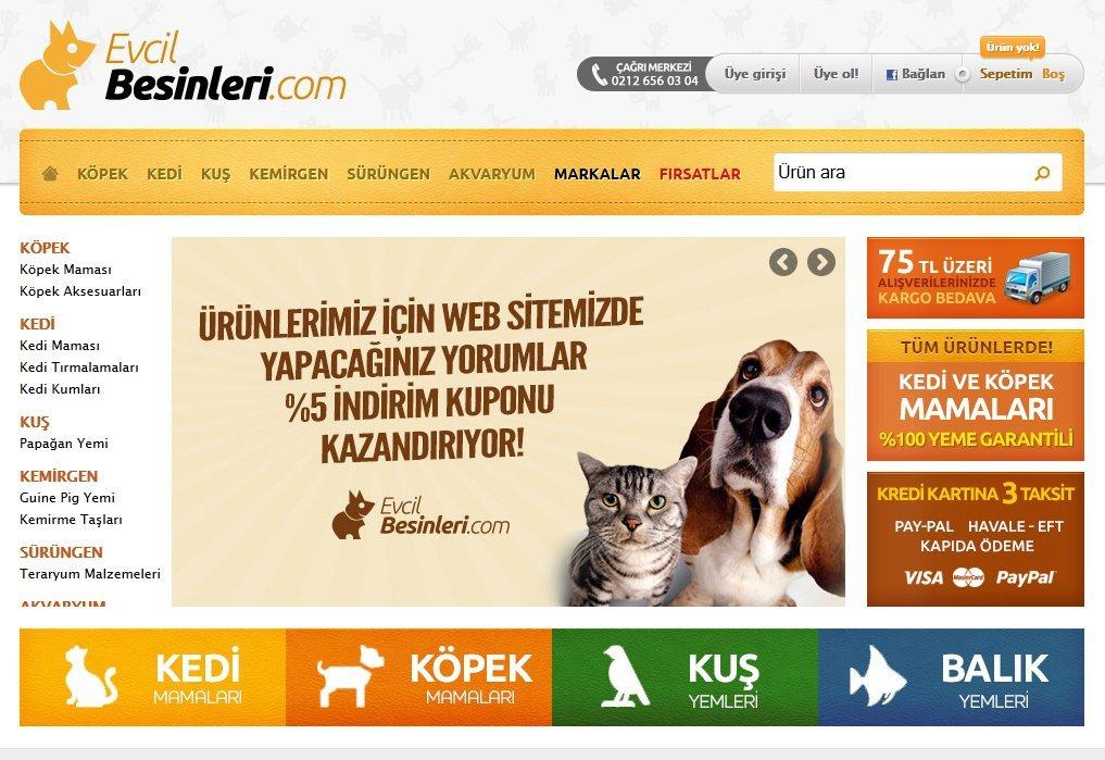 evcilbesinleri.com evcil hayvan besinleri 2