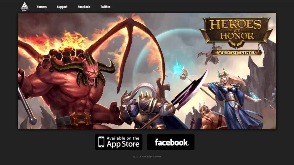 nonstop games Heroes of Honor