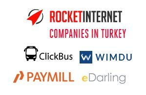 rocket internet turkey turkiye wimdu clickbus paymill edarling