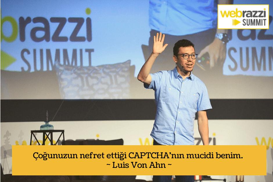 Webrazzi Summit 2014 Luis Von Ahn
