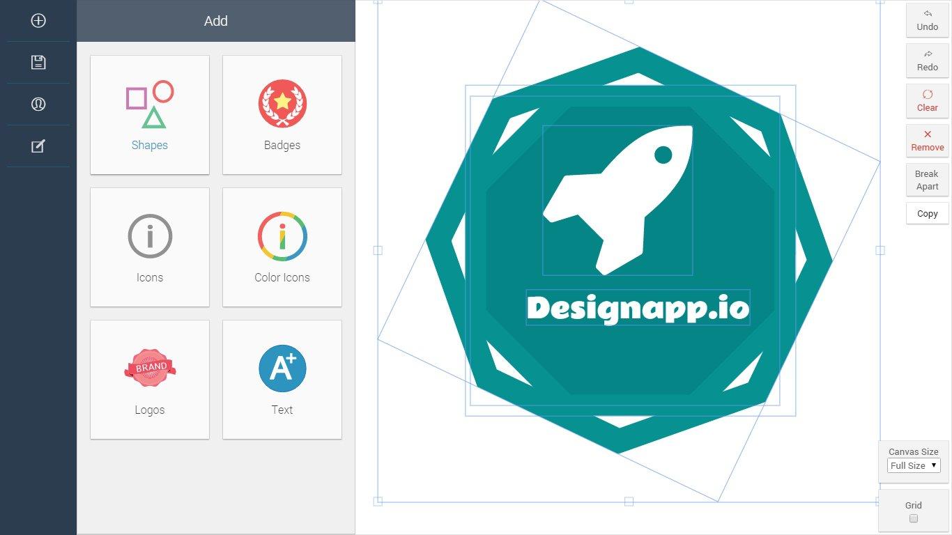 designapp.io html5 logo tasarimi logo design