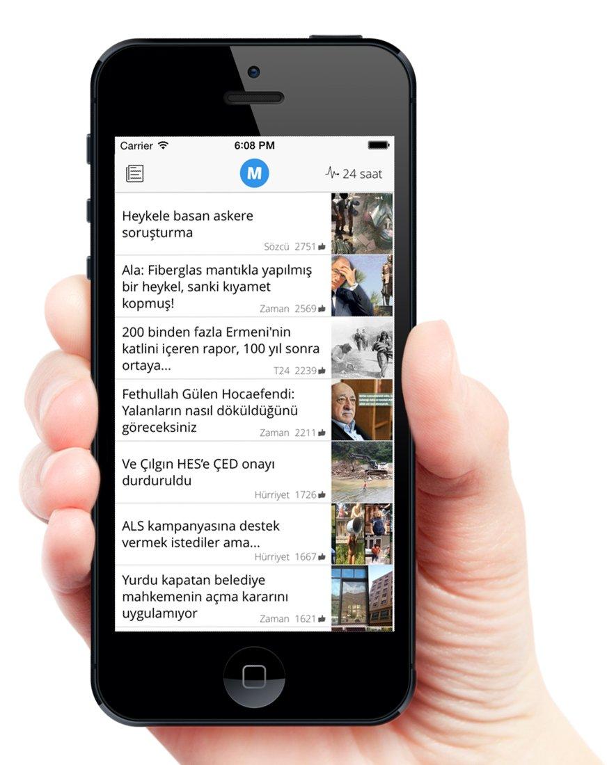 mansette haber uygulamasi ios android 3