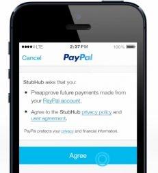 paypal one touch tek dokunusla odeme bitcoin braintree