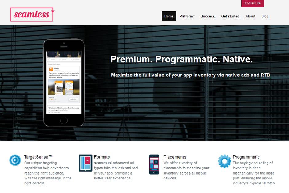 seamless mobilike mobil reklam platformu sdk 2