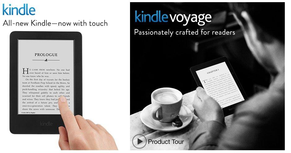 yeni kindle yeni kindle voyage ekitap okuyucu