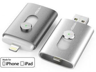 iphone ve ipad için usb bellek: istick