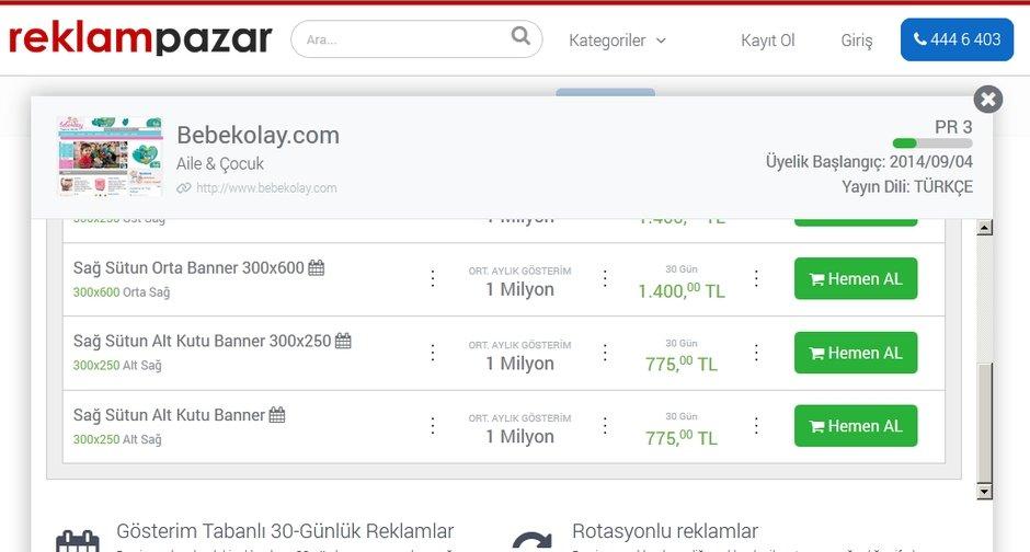 reklampazar.com dijital reklam pazar yeri