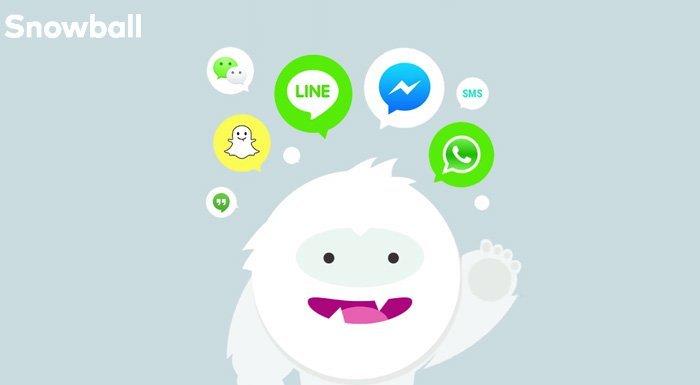 Tüm mesajlarınızı bir araya getirecek uygulama: Snowball