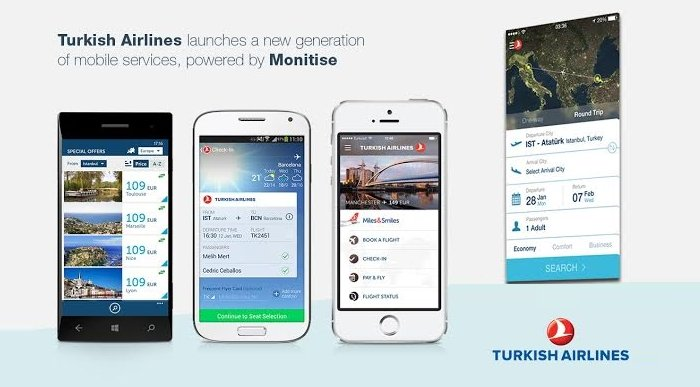 thy ios android uygulamaları turk hava yollari monitise