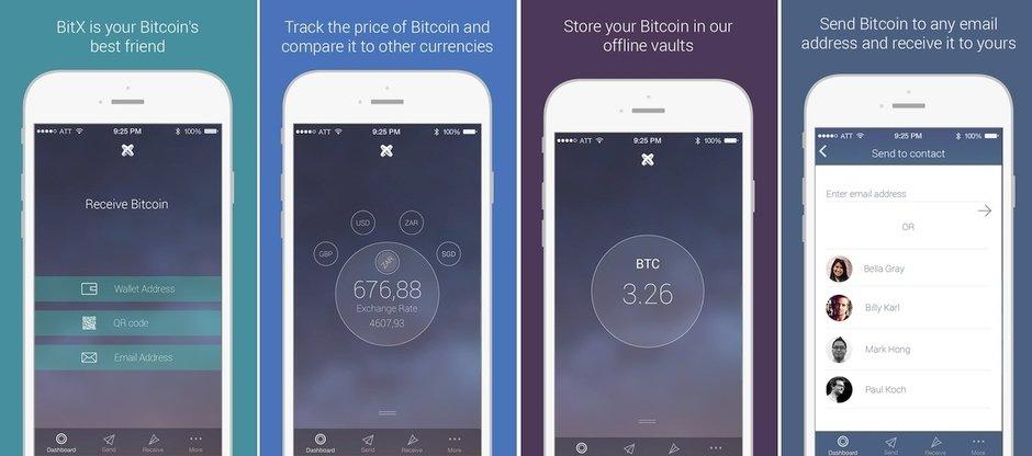 bitcoinx bitcoin wallet cuzdan