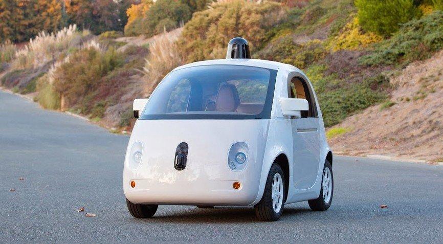 google sürücüsüz prototip
