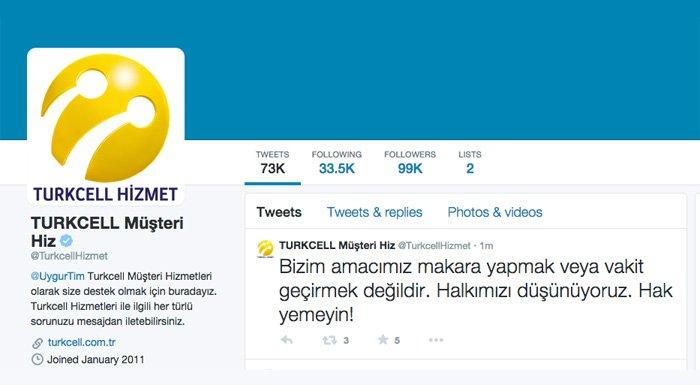 Turkcell Müşteri Hizmetleri Twitter Hesabı Hacklendi Saldırıyı