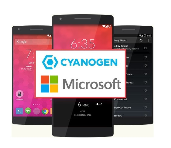 Cyanogen os microsoft android