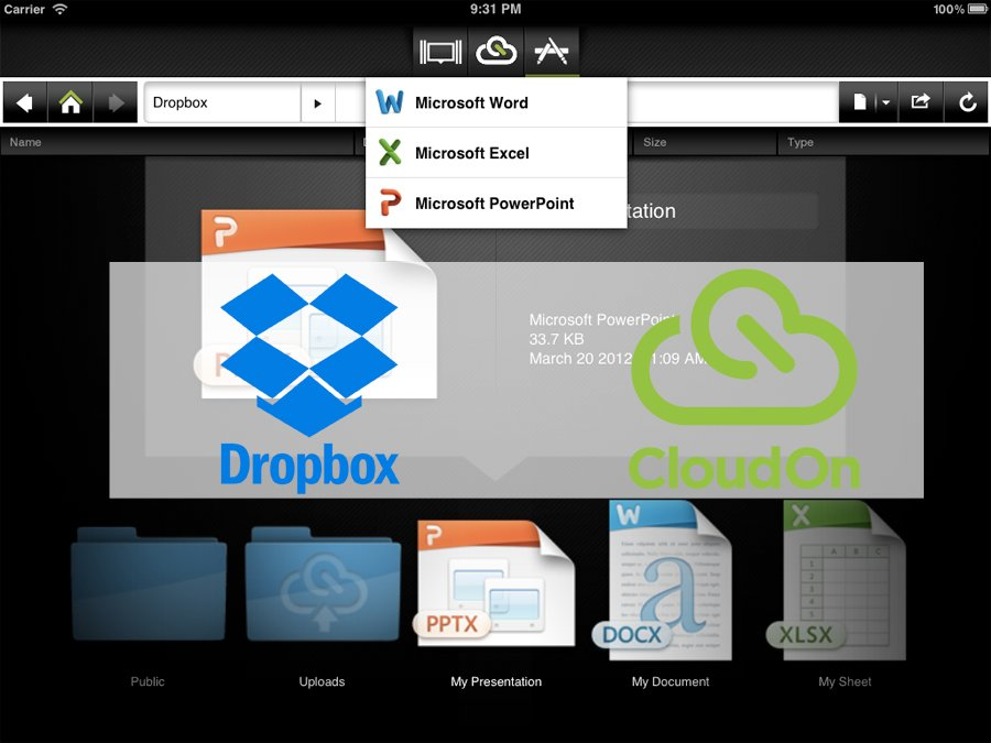 dropbox-cloudon
