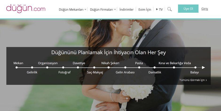 dugun.com dugun hizmetleri yatirim