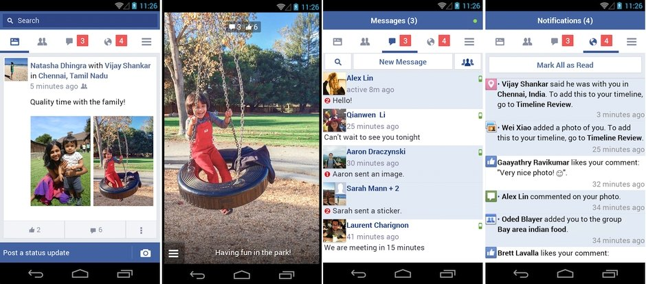 facebook lite android  indir