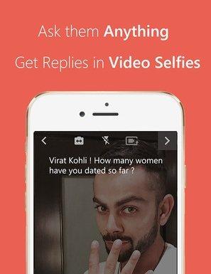 frankly video soru cevap uygulamasi hindistan