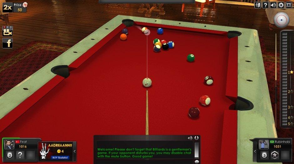 pool elite bilardo oyunu