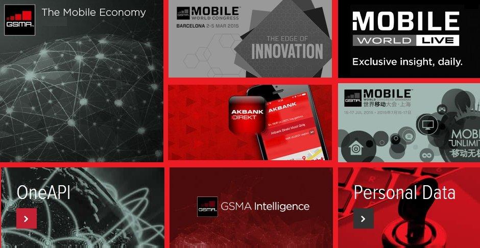 GSMA 2014 2015 Akbank Direkt Mobil uygulama