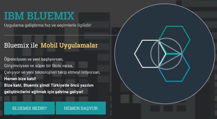 IBM Bluemix Egitimleri Viveka Girisim Hizlandirma Programi