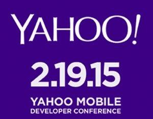 Yahoo mobile developers conference mobil gelistirici konferansi