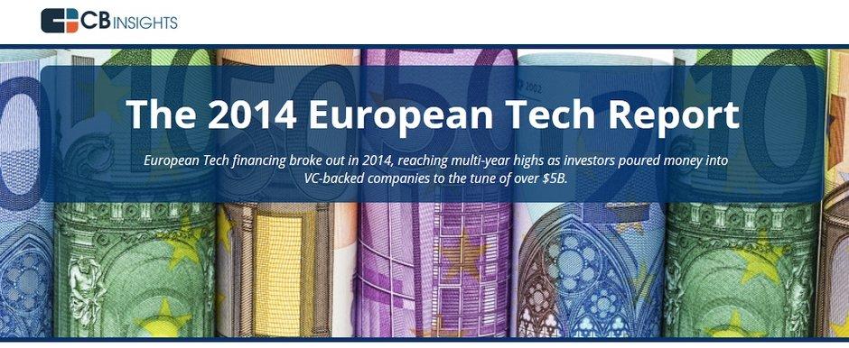 avrupa yatirim raporu 2014 cb insights girisim sermayesi