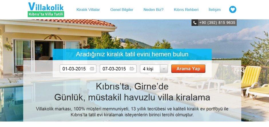 kıbrıs'ta villa kiralamak