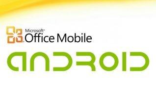 Microsoft Office Android uygulamalari