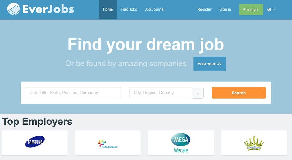 everjobs kariyer is ilani sitesi rocket internet